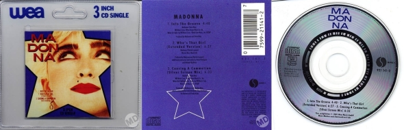 madonna into the groove cd singe 3 pulgadas alemania