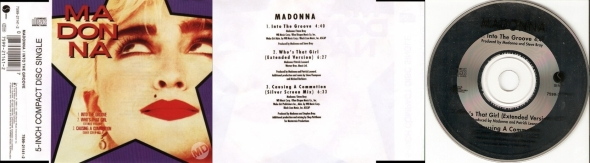 madonna into the groove cd single australia