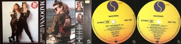 madonna into the groove single 12 pulgadas francia alemania