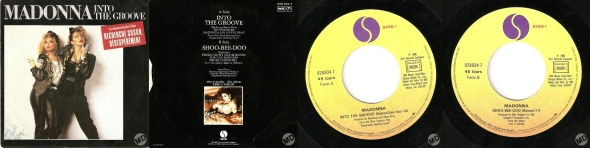 madonna into the groove single 7 pulgadas francia