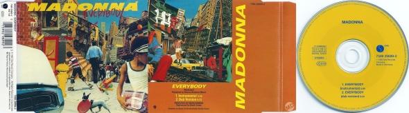 madonna everybody cd single germany