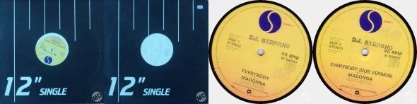 madonna everybody single 12 pulgadas UK