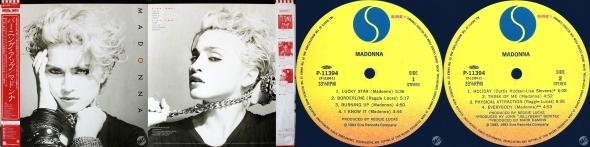madonna madonna album LP japan