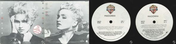 madonna madonna album mexico LP