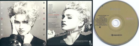 madonna madonna album remaster cd alemania