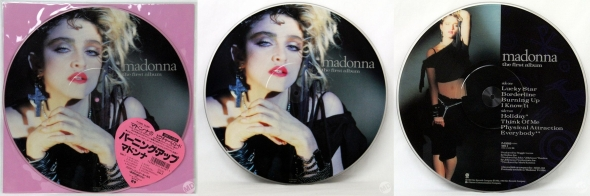 madonna the first album picture disc japon