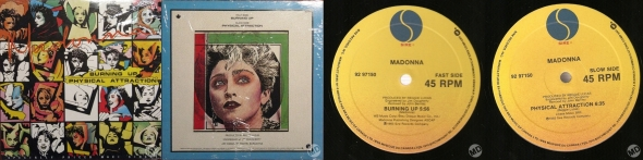 madonna burning up canada single 12 pulgadas canada