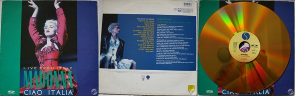 madonna ciao italia live from italy vcd uk