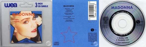 madonna holiday cd single 3 inches germany