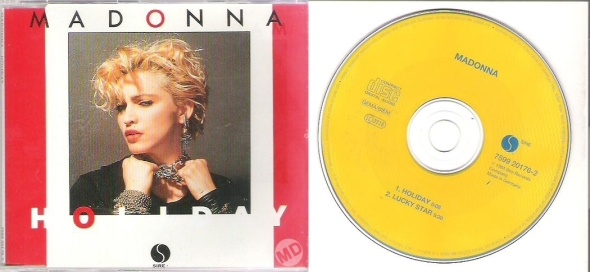 madonna holiday cd single germany