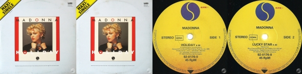 madonna holiday single 12 inches germany