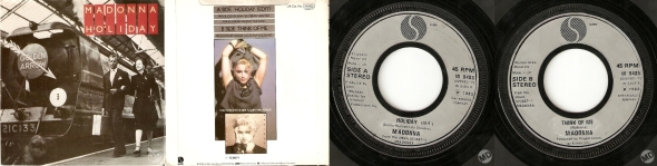 madonna holiday train cover UK 7 inches