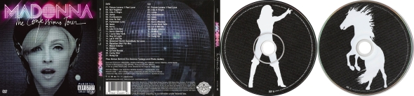 madonna the confessions tour CD