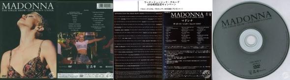 madonna the girlie show live down under DVD japan
