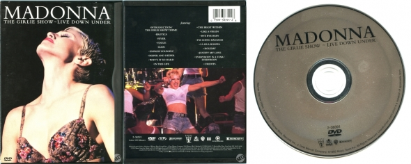 madonna the girlie show live down under dvd usa