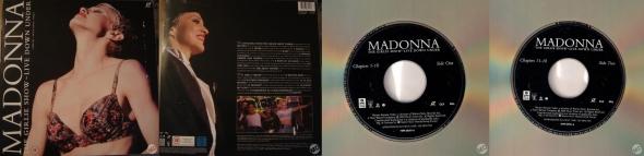madonna the girlie show live down under laserdisc germany