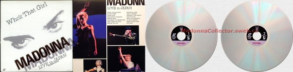 madonna whos that girl live in japan laser disc