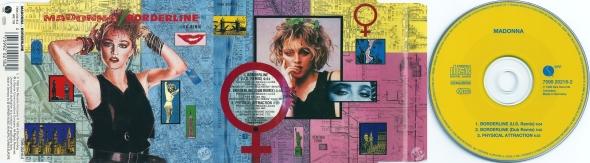 madonna borderline cd single germany