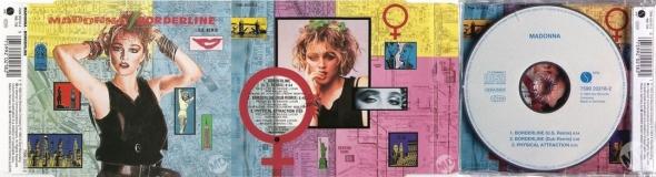 madonna borderline cd single UK