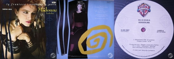 madonna borderline mexico single 12 inch