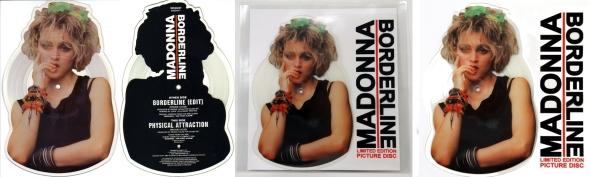 madonna borderline picture disc UK