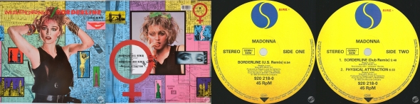 madonna borderline single 12 inch germany