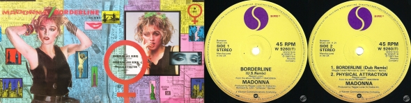madonna borderline single 12 inch UK