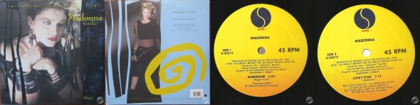 madonna borderline single 12 inch USA