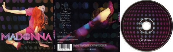 madonna confessions on a dance floor CD
