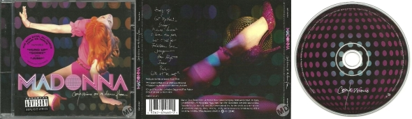 madonna confessions on a dance floor germany CD