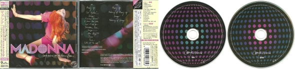 madonna confessions on a dance floor japan CD + DVD