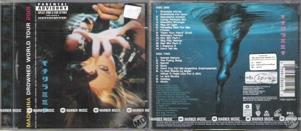 madonna drowned world tour 2001 vcd tailand