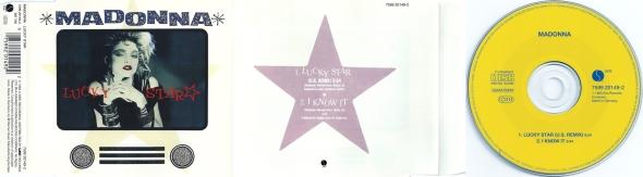 madonna lucky star cd single germany 1995