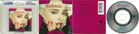 madonna lucky star single 3 inches germany