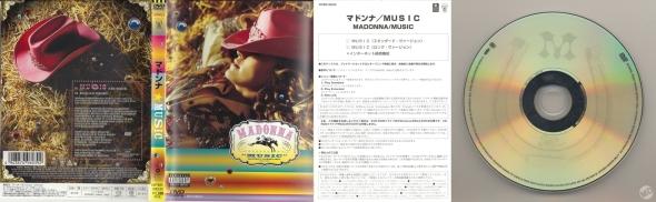 madonna music dvd single japan