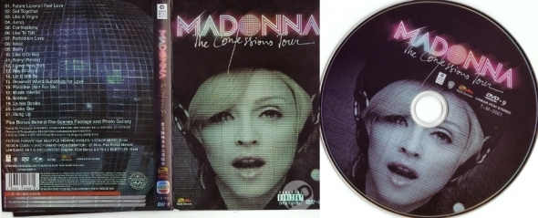 madonna the confessions tour dvd china