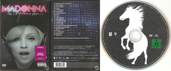 madonna the confessions tour dvd germany