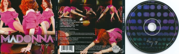 madonna hung up cd maxi single usa