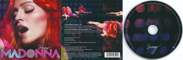 madonna sorry cd single 2 france