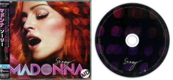 madonna sorry cd single 3 japan