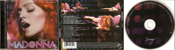 madonna sorry cd single 6 canada