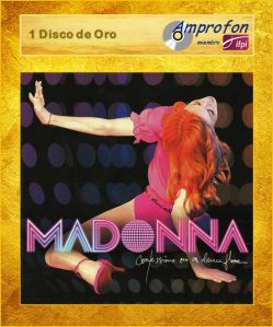 madonna confessions on a dance floor AMPROFON 2