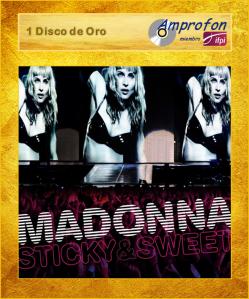 madonna sticky & sweet AMPROFON