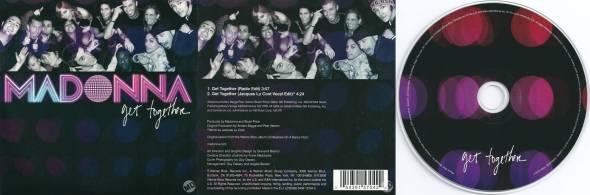 madonna get together cd single 2 francia