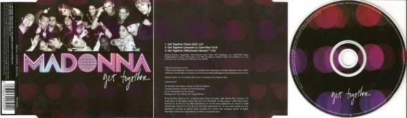 madonna get together cd single 3 australia