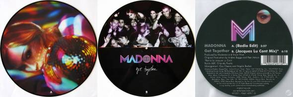 madonna get together picture disc UK