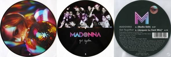 madonna get together picture disc UK