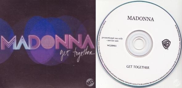 madonna get together promo cd single australia