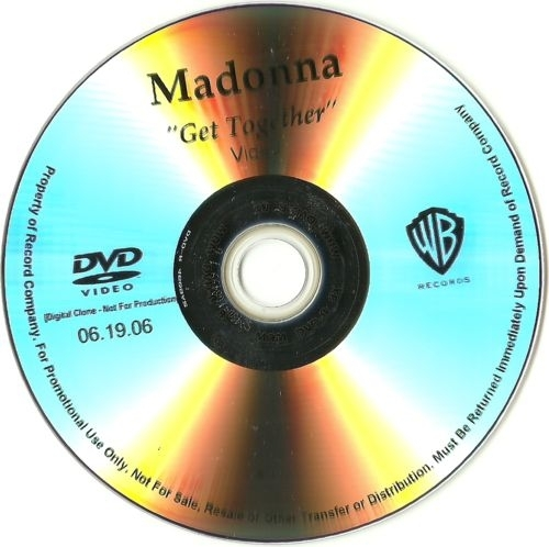 madonna get together promo dvd usa