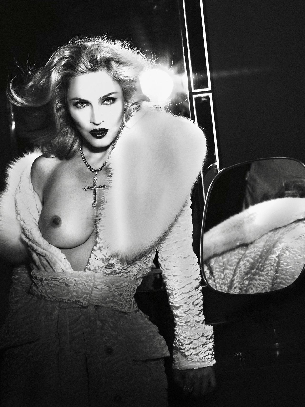 Truth Or Dare Naked By Madonna  Alas  Piggott  Madonnaware-7901
